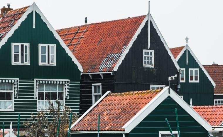 Voorbeeld dak Zaandam